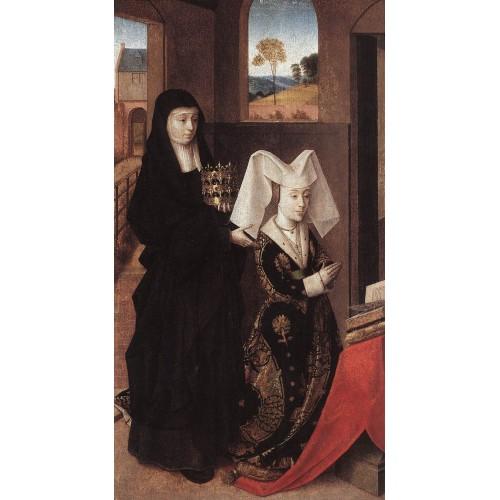 Isabel of Portugal with St Elizabeth