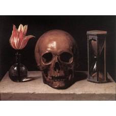 Still Life with a Skull