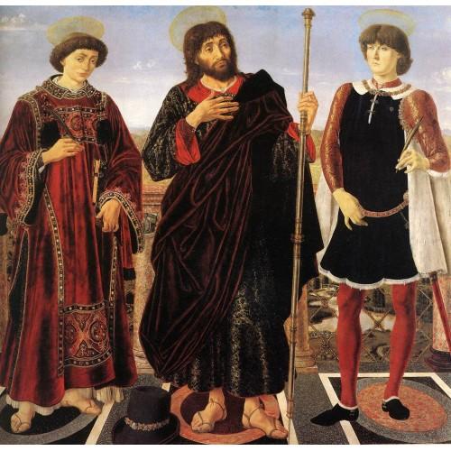 Altarpiece with Three Saints