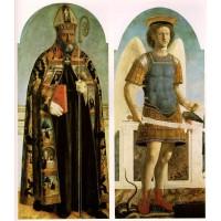 Saint Augustine Saint Michael the Archangel