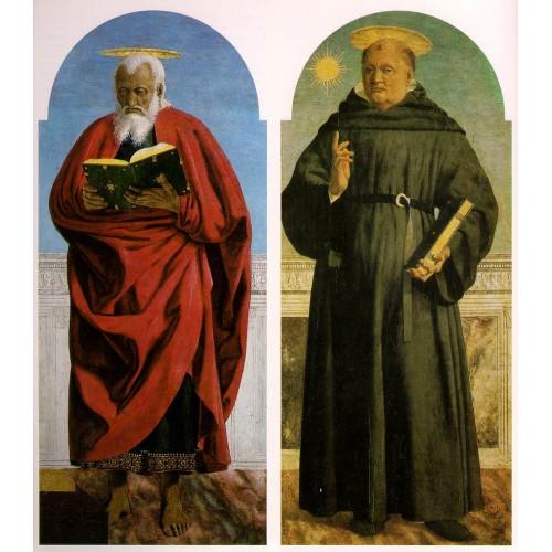Saint John the Evangelist Saint Nicholas of Tolentino
