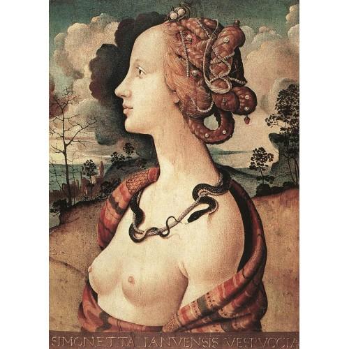 Portrait of Simonetta Vespucci