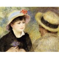 Aline Charigot and Renoir