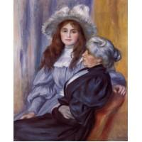 Berthe Morisot and Her Daughter Julie Manet