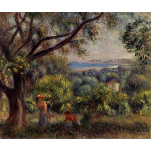 Cagnes Landscape 1