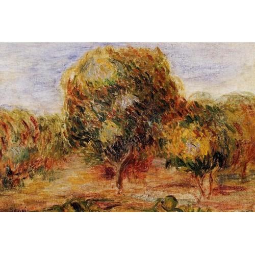 Cagnes Landscape 4
