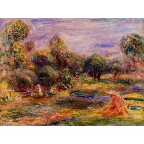 Cagnes Landscape 5