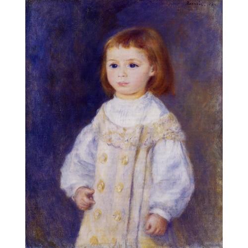 Child in a White Dress (Lucie Berard)