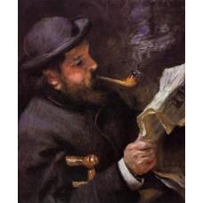 Claude Monet Reading