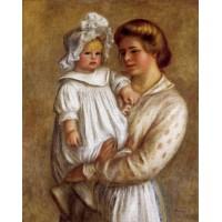 Claude Renoir and Renee