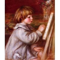 Claude Renoir Painting