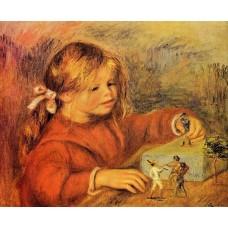 Claude Renoir Playing
