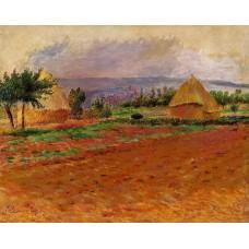 Field and Haystacks