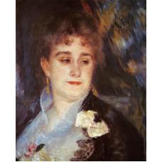 First Portrait of Madame Georges Charpentier