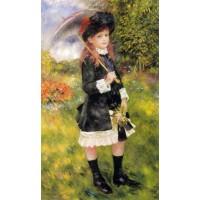 Girl with a Parasol (Aline Nunes)
