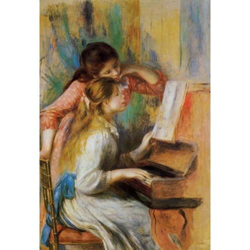 Girls at the Piano 1