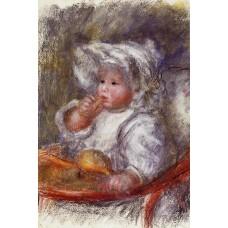 Jean Renoir in a Chair