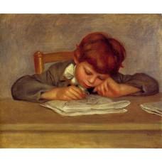 Jean Renoir Reading