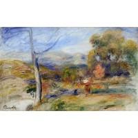 Landscape near Cagnes 1