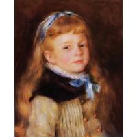 Mademoiselle Grimprel in a Blue Ribbon