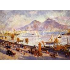 Mount Vesuvio in the Morning