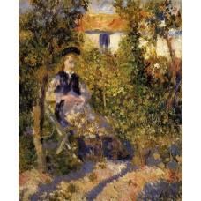 Nini in the Garden