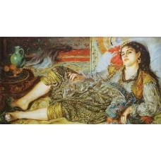 Odalisque (An Algerian Woman)