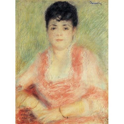 Portrait in a Pink Dress