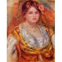 Portrait of Mademoiselle Francois