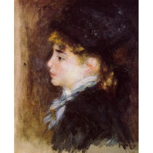Portrait of Margot (Portrait of a Model)
