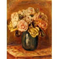 Roses in a Blue Vase 2