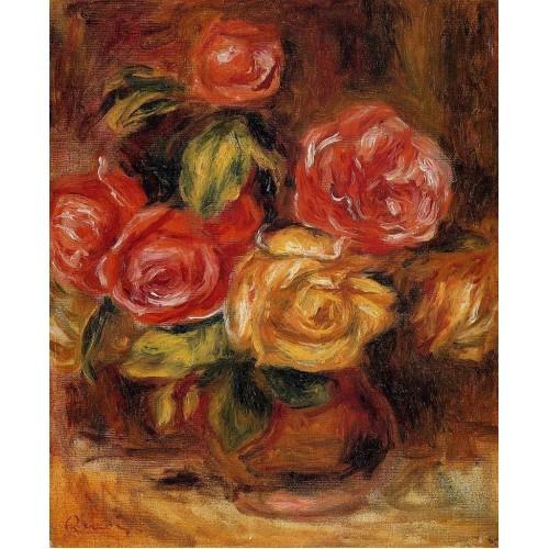 Roses in a Vase 4