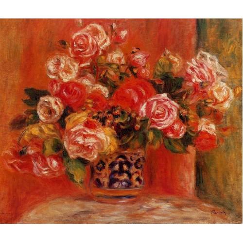 Roses in a Vase 6