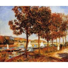 The Bridge at Argenteuil in Autumn