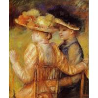 Two Women in a Garden 1