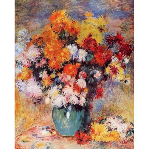 Vase of Chrysanthemums 2