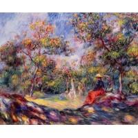 Woman in a Landscape 1