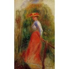 Woman in a Landscape 2