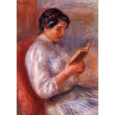 Woman Reading 2