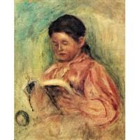 Woman Reading 3