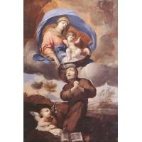 Virgin Giving the Scapular to St Simon Stock
