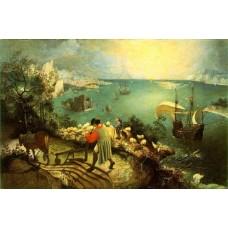 Bruegel Pieter de Oude De val van icarus hi res