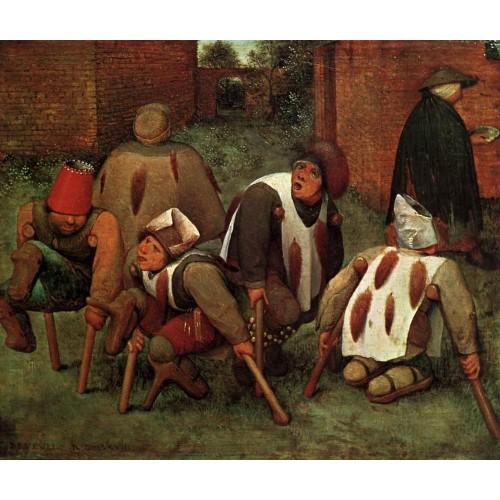 Brueghel Pieter the Elder The Cripples