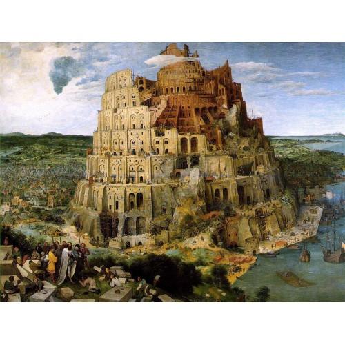 Brueghel tower of babel