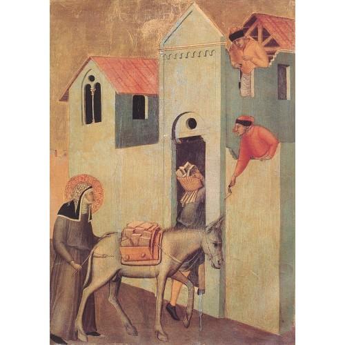 Beata Umilta Transport Bricks to the Monastery