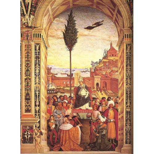Aeneas Piccolomini Arrives to Ancona