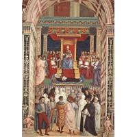 Aeneas Piccolomini Canonizes Catherine of Siena