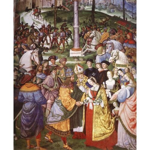 Aeneas Piccolomini Introduces Eleonora of Portugal to Freder