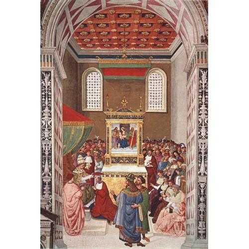 Aeneas Piccolomini Receives the Cardinal Hat