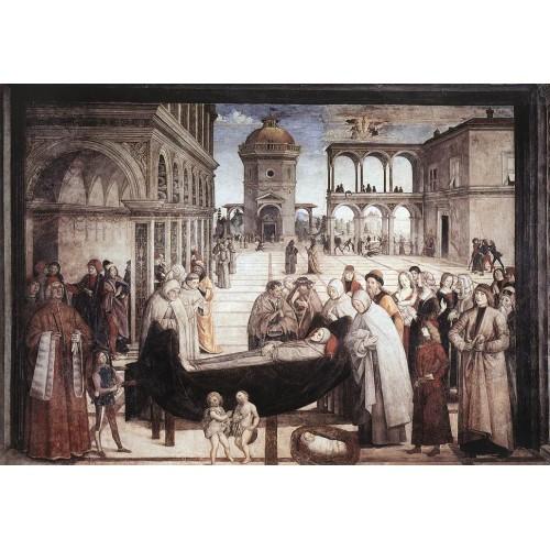 Death of St Bernardine
